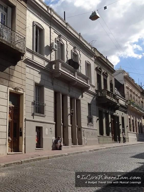 Cobblestone Streets in San Telmo