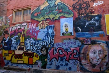 Art Alley - Rapid City, South Dakota