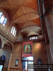 Interior Balcony - Church of San Francisco