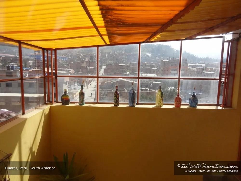 Windows in Huaraz