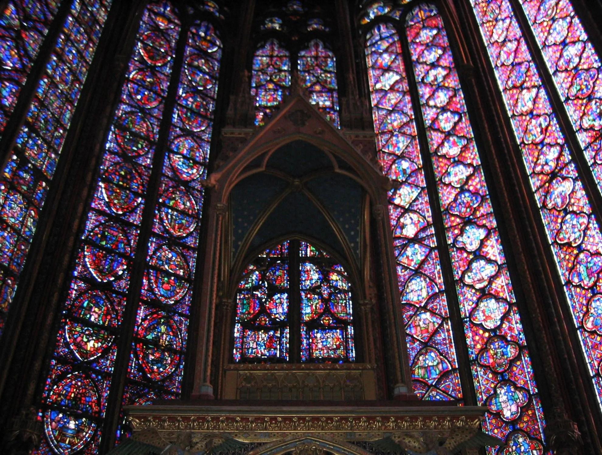 Sainte-Chapelle, Paris, France