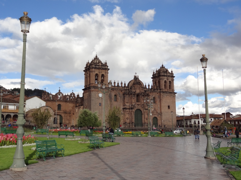 Plaza de Arms - Cathedral Basilica of the Assumption of the Virgin