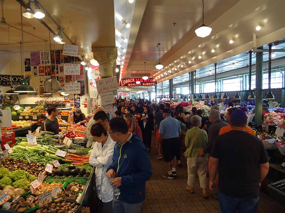 Pike Place Market interior