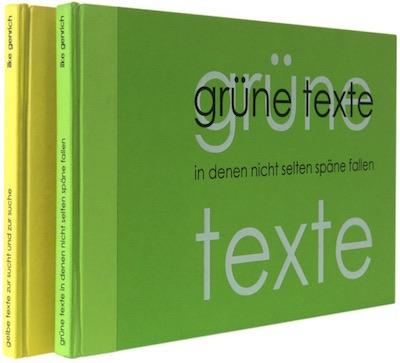 Gelbe und Grüne Texte