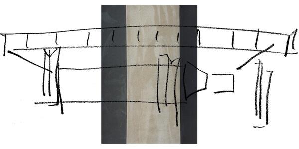 Neue Nationalgalerie Illustration