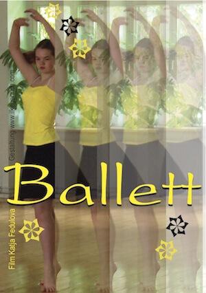 Postkarte Ballett