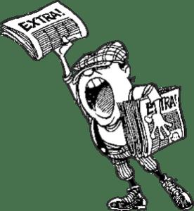 News seller
