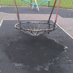 Play area vandals strike again