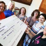 Mayor's charity cheque presentation