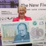 Maggie Previews New Fiver