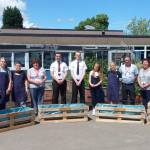Two Ormiston Ilkeston Enterprise Academy students returned to their former primary school to offer their support.