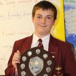 Awards ceremony for students at Saint John Houghton Catholic Voluntary Academy