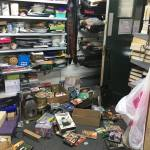 Double theft at hospice charity shops at Christmas
