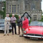 Local classic car features in Antiques Road Trip TV show