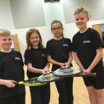 School tennis tournament organised by Erewash School Sport Partnership