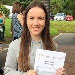 Saint John Houghton Catholic Voluntary Academy students celebrate GCSE results day