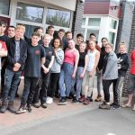 Students at Saint John Houghton Catholic Voluntary Academy have set off on a onc…