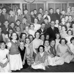 Are you in this picture from about 1955?  Do you know what event it was?  Or whe…