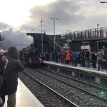 Video of the 'Earl' coming in.The scene at Ilkeston Station just after 11am when…