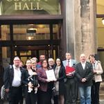 HAZELWOOD FAMILIES TAKE PETITION TO DERBYSHIRE COUNTY COUNCIL…
