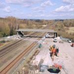New footbridge should be opening soon.The new footbridge has been installed near…