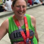 A teacher at Ormiston Ilkeston Enterprise Academy completed the London Marathon …