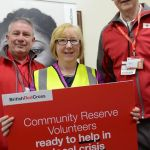 Maggie backs British Red Cross community reserve volunteer project…