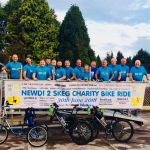 NEWDIGATE REGULARS CYCLE FOR LOCAL CHARITY BEN'S DEN…