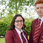 Two Saint John Houghton Catholic Voluntary Academy students are celebrating afte…