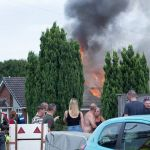 Thankfully, the owners of an Ilkeston bungalow escaped as flames tore through th…