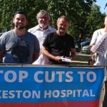I've signed this petition to stop NHS cuts in Erewash, will you sign too?