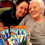 Cedars and Larches care home observed World Smile Day. …