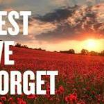 Erewash joins the nation to remember…