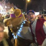 Members of Ilkeston Theatre Company at the Christmas lights switch-on.We have be…