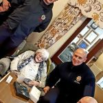 Ben Keiller and some of the Green Watch  crew visited the Cedars and Larches car…