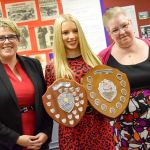 Awards for a range of achievements were handed out to students at Saint John Hou…