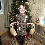 A West Hallam boy has shown the true spirit of Christmas after saving up his poc…