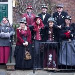 Steampunks at the Wig, a group of sci-fi enthusiasts from Lincoln, descended upo…