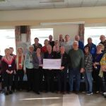 Generous donation gratefully received by Ilkeston Community Hospital League of F…