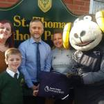 A six-year-old boy from St Thomas Catholic Primary School, Ilkeston has landed a…