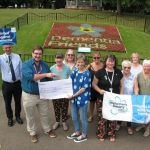 On Wednesday 24th July a cheque for £1,133.10 was presented to the Alzheimer's S…