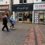 A new shop has opened on Bath Street – Henry George menswear….