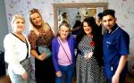 Two local award winning make up artists paid a visit to Ladywood Care Home in Ki...