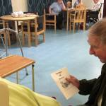 Kirk Hallam Church group spend time with the residents of Oliver House Care Home…