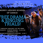 Kerry Ledger School of Dance in Ilkeston is offering free Drama and Singing Tria…