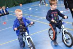 Hundreds of primary pupils were given the opportunity to take part in balance bi...