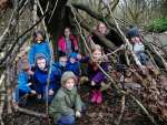 Cubs from 1st Sitwell and 21st Ilkeston went on their winter camp at Hesley Wood...