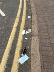 A concerned businessperson on Bath Street has sent us these pictures of discarde...