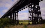 Some pictures of the Bennerley Viaduct taken today....