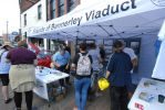Friends of Bennerley Viaduct Market Stall - Ilkeston Market